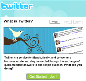 Twitter Front Page